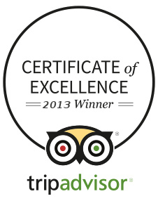 Certificat Of Excellence 2013