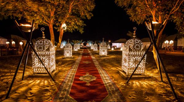 Luxury Desert Camp in Erg Chebbi