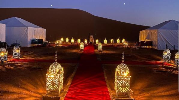 Luxury Desert Camp in Erg Chigaga