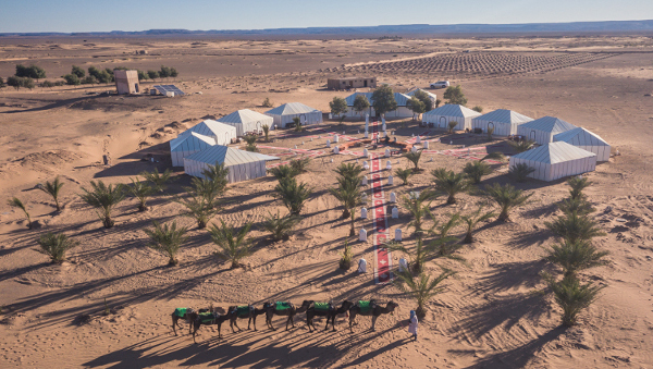 Erg Chebbi Luxury Desert Camp Tour From Casablanca
