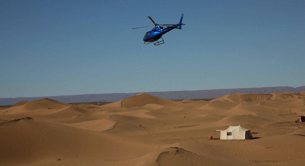 Erg Chigaga Luxury Desert Camp Tour From Marrakech By Helicopter